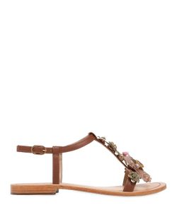 VENTI 12 | 10mm Embellished Leather Sandals