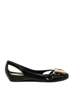 Salvatore Ferragamo | 30mm Bermuda Cut Out Pvc Flats