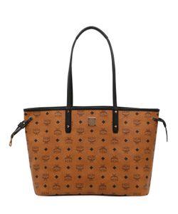 MCM | Medium Reversible Faux Leather Tote Bag