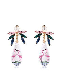Anton Heunis | Pandoras Box Flamingo Earrings
