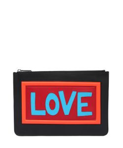 Fendi | Smooth Leather Pouch With Logo