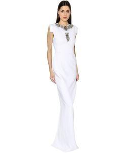Antonio Berardi | Crystal Embroide Cady Gown
