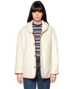 LEVI'S MADE & CRAFTED   Quilted Faux Shearling Jacket