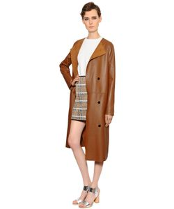 Yves Salomon | Reversible Suede Nappa Leather Coat