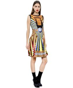 Mary Katrantzou   Eirene Fla Printed Crepe Dress