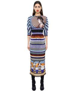 Mary Katrantzou   Gaia Printed Silk Georgette Dress