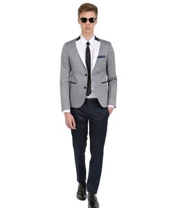THE SUITS | Stretch Cotton Micro Pinstripe Suit