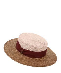 Borsalino | Toledo Two Tone Braided Straw Hat