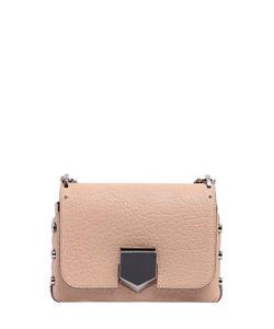 Jimmy Choo | Lockett Petite Embossed Leather Bag