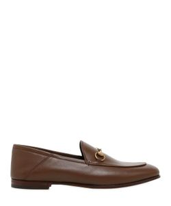 Gucci | 10mm Brixton Horse Bit Leather Loafers