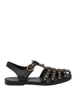 Gucci | Studded Gladiator Rubber Sandals