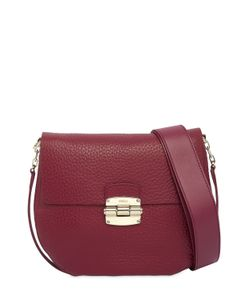 Furla | Small Club Grained Leather Shoulder Bag