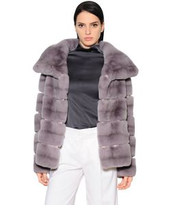 Yves Salomon | Rex Rabbit Fur Jacket