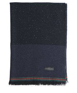 Paul Smith | Wool Scarf With Fringed Edges