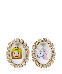 BIJOUX DE FAMILLE | Emoji Princess Unicorn Earrings