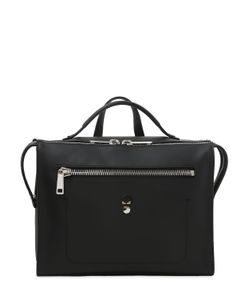Fendi | Leather Messenger With Pouch
