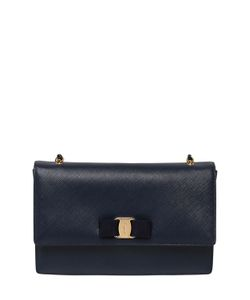 Salvatore Ferragamo | Large Ginny Saffiano Leather Bag