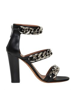 Givenchy | 100mm Leather Chained Sandals