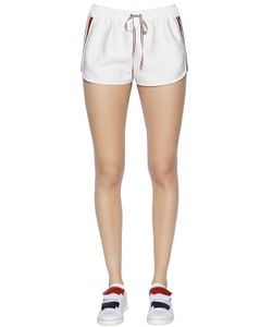 Moncler Gamme Rouge | Cotton Silk Twill Shorts