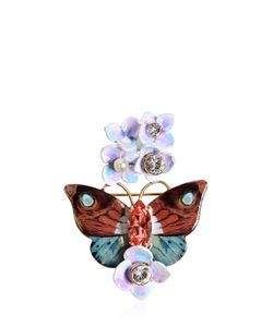 Dolce & Gabbana | Butterfly And Hydrangea Pin