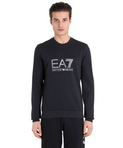EA7 Emporio Armani | Logo Cotton Sweatshirt