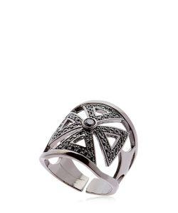 FEDERICA TOSI | Faith Crystal Brass Ring