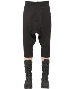 Alexandre Plokhov | Cropped Wool Cotton Blend Pants