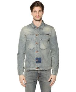 Nudie Jeans | Patches Cotton Denim Jacket