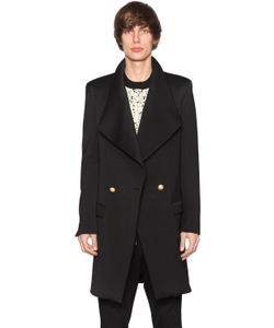 Balmain | Double Breasted Wool Coat