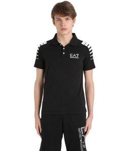 EA7 Emporio Armani | Cotton Jersey Polo Shirt