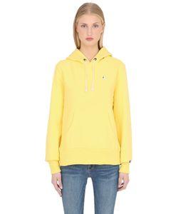 Champion | Hooded Cotton Terrycloth Sweatshirt