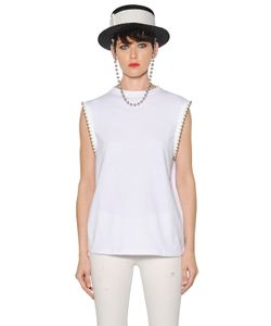Alyx | Beaded Cotton Jersey T-Shirt