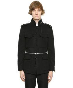 Alexander McQueen | Wool Cashmere Field Jacket W Zips