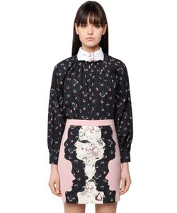 Vivetta | Printed Cotton Poplin Shirt