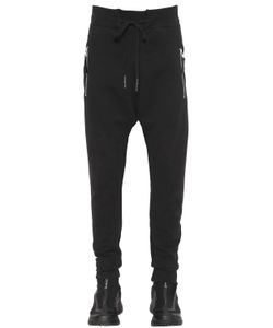 11 By Boris Bidjan Saberi | Zip Stretch Cotton Jersey Sweatpants