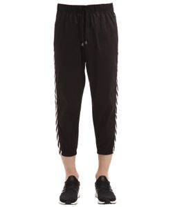 MRKT | Cotton Gabardine Pants With Side Bands
