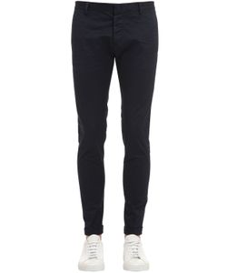 Dsquared2 | 15.5cm Skinny Stretch Cotton Twill Pants