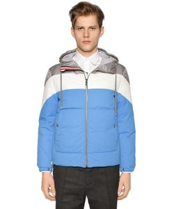 Moncler Gamme Bleu | Hooded Nylon Down Jacket