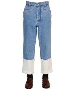 Loewe   Fisherman Stone Washed Denim Jeans