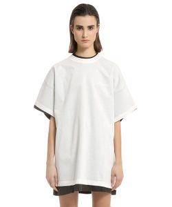 VETEMENTS | Hanes Securite Jersey Doubled T-Shirt