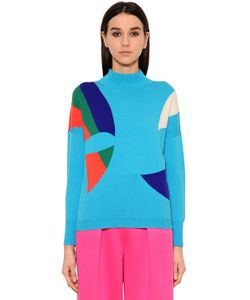Delpozo | Intarsia Wool Sweater