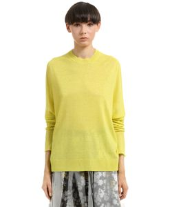 Jil Sander | Linen Cashmere Silk Blend Sweater