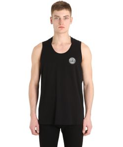 VERSACE UNDERWEAR | Medusa Patch Running Jersey Tank Top