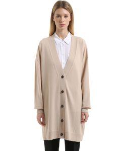 Jil Sander | Oversized Cashmere Long Cardigan