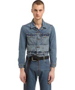VETEMENTS | Levis Cropped Denim Jacket