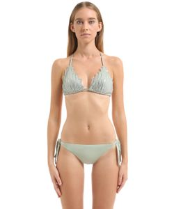 La Perla | Sequined Triangle Bikini Top