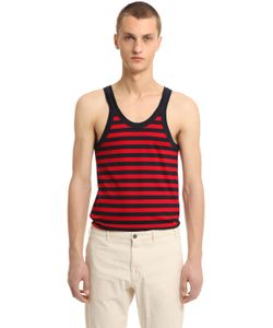 Gucci | Striped Cotton Jersey Tank Top