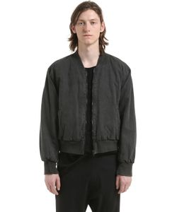 Yeezy   Washed Cotton Canvas Bomber