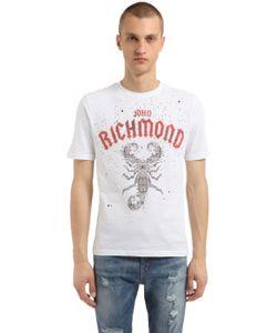 John Richmond | Printed Cotton Jersey T-Shirt