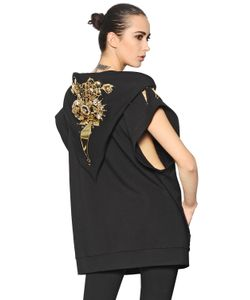 Amen | Embellished Viscose Blend Sweatshirt